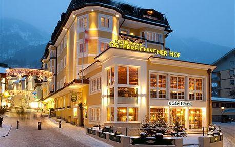 Rakousko - Bad Gastein na 4-5 dnů, polopenze
