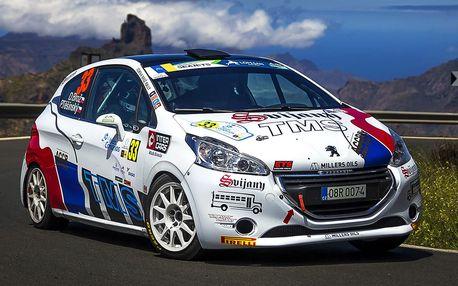 Spolujízda v rally vozu s profi závodníkem