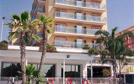 Hotel REYMAR PLAYA, Costa Brava, Španělsko, letecky, polopenze