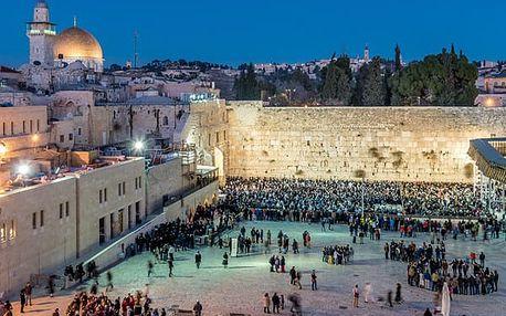 To nejlepší z Izraele, Izrael, letecky, polopenze