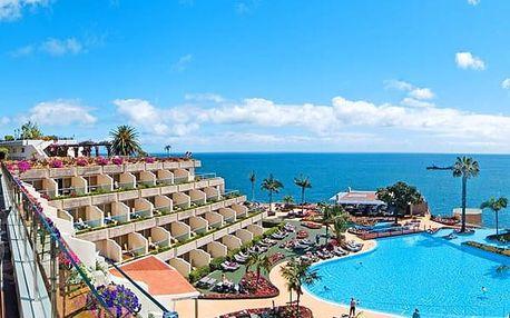 Hotel PESTANA CARLTON, Madeira, Portugalsko, letecky, snídaně v ceně