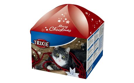 Vánoční dárková krabice pro kočky