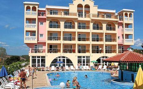 Hotel STEFANOV III., Burgas (oblast), Bulharsko, letecky, snídaně v ceně