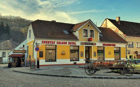 Relaxační pobyt na 3 nebo 4 dny v Country Saloonu Vranov nad Dyjí,