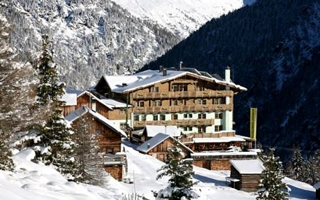 Rakousko - Sölden - Ötztal na 4-8 dnů, polopenze
