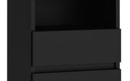 Noční stolek M1 černá