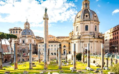 Prodloužený víkend v Římě, Itálie, letecky, snídaně v ceně