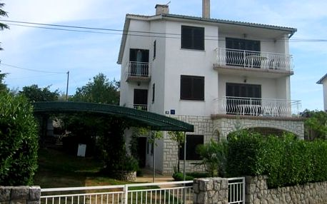 Apartmány MALINSKA, Ostrov Krk, Chorvatsko, vlastní doprava, bez stravy