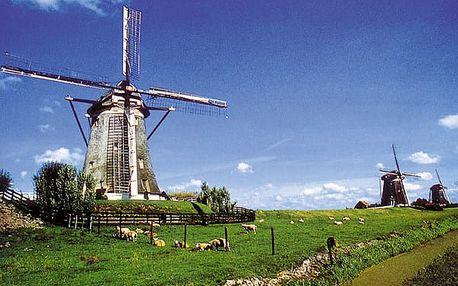 To nejlepší z Beneluxu, Evropa, Nizozemsko, autobusem, snídaně v ceně