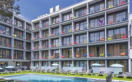 Hotel GHT SA RIERA, Costa Brava, Španělsko, letecky, polopenze