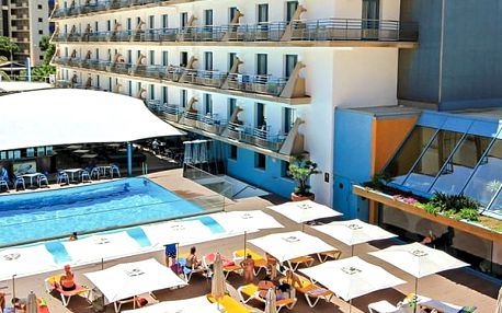 Hotel ALHAMBRA, Costa Brava, Španělsko, letecky, polopenze