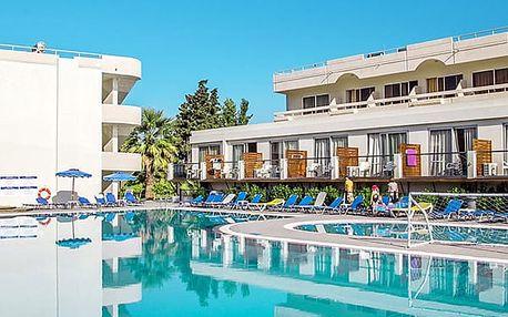 Hotel DELFINIA, Rhodos, Řecko, letecky, all inclusive