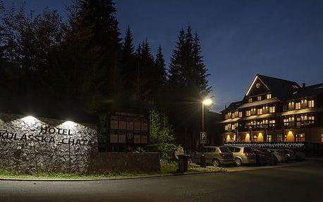 Hotel MIKULÁŠSKÁ CHATA, Demänovská dolina, Slovensko, vlastní doprava, polopenze