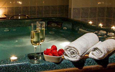 Relax v privátním wellness pro 2 osoby