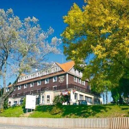 Krkonoše: jaro a léto v Hotelu SPA Bílý Hořec *** s polopenzí a wellness
