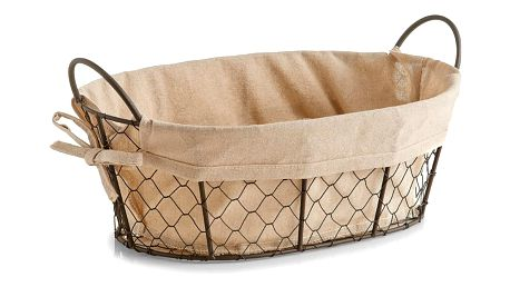 Košík na chléb nebo pečivo COUNTRY STYLE, 34x25x13 cm, ZELLER