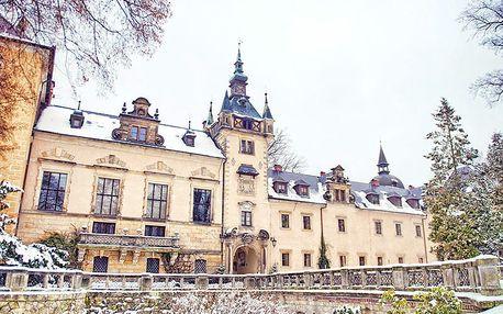 Polsko přepychově v zámeckém hotelu Kliczków s wellness neomezeně a polopenzí – platnost až do června 2019