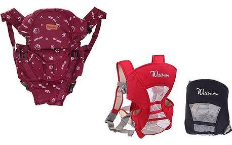 Dětské nosítko Willbaby pro děti od 3 do 12 měsíců v různých barevných variantách
