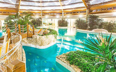 Maďarské termály Szentgotthárd ve 4* hotelu s neomezeným vstupem do lázní ve středomořském stylu pro jednoho