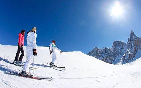 Dolomity v alpském hotelu s wellness