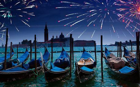 Silvestr v Benátkách autobusem a lodí