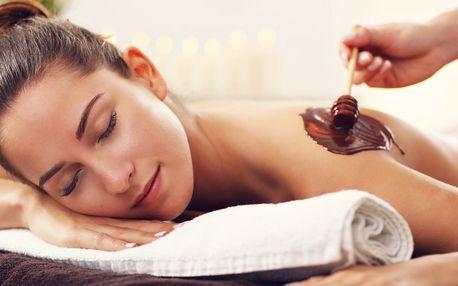 Exkluzivní čokoládová masáž včetně zábalu a peelingu