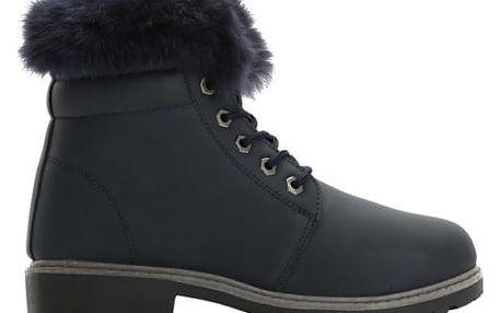 Dámské námořnicky modré kotníkové boty Lio 6190
