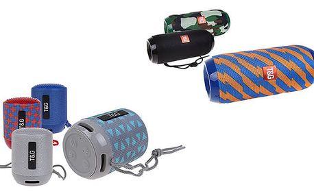 Přenosný bluetooth reproduktor v 5 provedeních