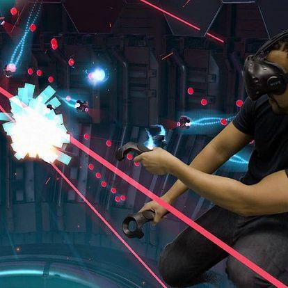 Virtuální realita pro 1-4 osoby s brýlemi HTC VIVE
