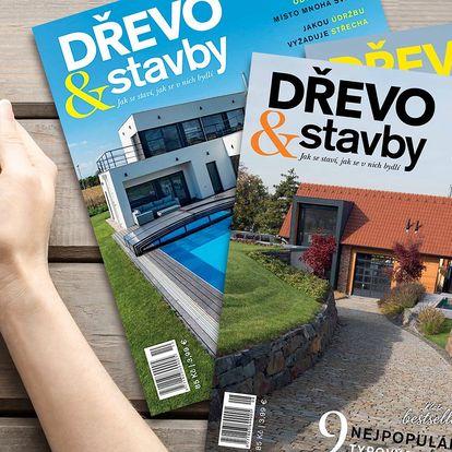Předplatné magazínu Dřevo&Stavby na dva roky