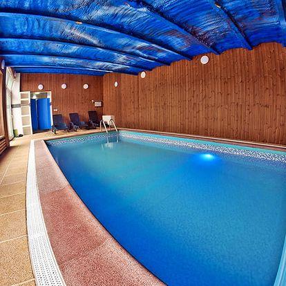 Jižní Morava v oblíbeném penzionu s privátním vstupem do bazénu se slanou vodou i vířivkou a polopenzí