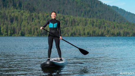 120 minut na paddleboardu na řece Berounce