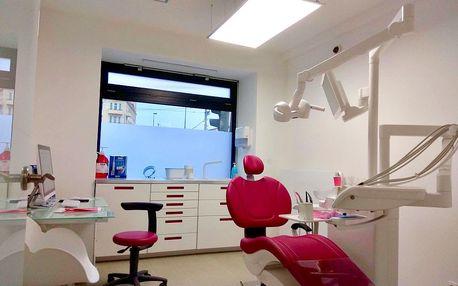 Kompletní dentální hygiena: odstranění zubního kamene, Air Flow