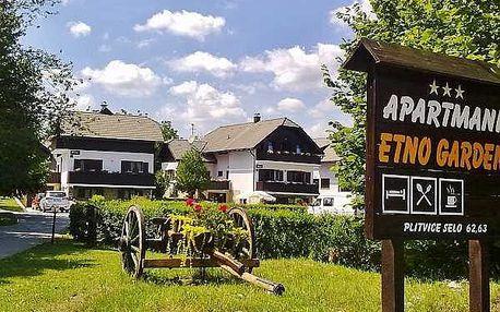 Chorvatsko - Plitvice Lakes na 8 dní, bez stravy s dopravou vlastní