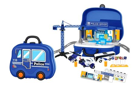 Sada policie v kufru