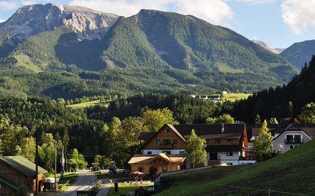 Rakousko - Hinterstoder na 8 dní, polopenze s dopravou vlastní