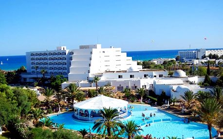 Tunisko - Hammamet na 8 až 15 dní, all inclusive s dopravou letecky z Prahy 40 m od pláže