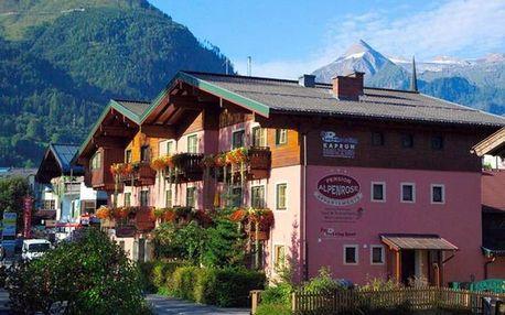 Rakousko - Kaprun / Zell am See na 7 až 8 dní, snídaně s dopravou vlastní