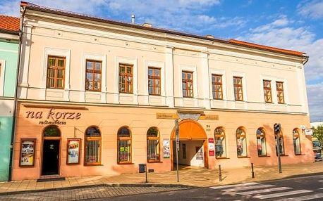 Slovenský ráj v Parkhotelu Centrum *** s polopenzí a slevou do termálů