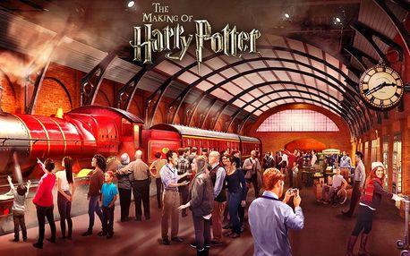 Londýn se zastávkou v ateliérech Harryho Pottera