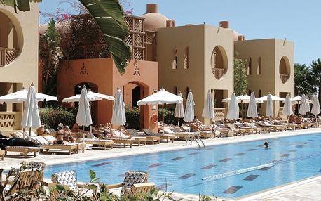 Egypt - Hurghada na 8 až 12 dní, all inclusive s dopravou letecky z Prahy 500 m od pláže
