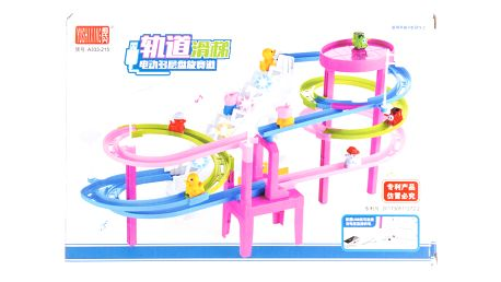 Zábavná hrací dráha Jezdící prasátka pig
