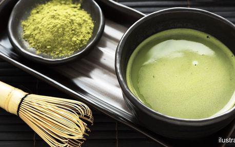 Mletý zelený čaj matcha i v ovocných příchutích