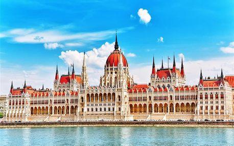 Maďarsko - Budapest na 1 den, bez stravy s dopravou autobusem