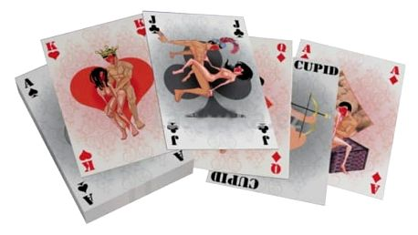 Malé hrací karty Kamasutra