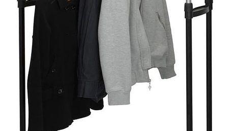 Emako Dvojitý věšák na šaty - skříň na kolečkách