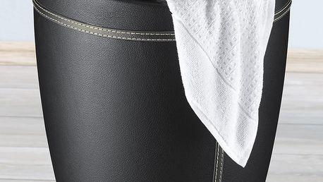 Taburet CANDY - koš na prádlo, 2 v 1, WENKO