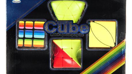 Rubikova kostka sada 4 v 1