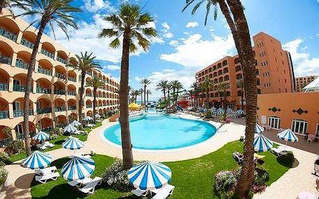 Tunisko - Sousse na 8 až 15 dní, polopenze s dopravou letecky z Prahy přímo na pláži