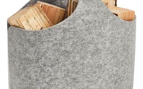 Koš na noviny, kontejner, filcový materiál, ZELLER